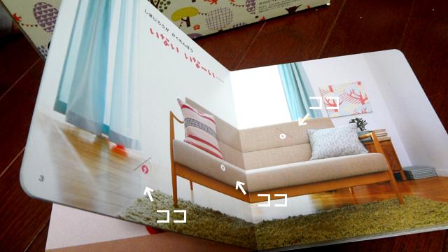 『こどもちゃれんじ』の『1歳のおたんじょうび特別号』の絵本
