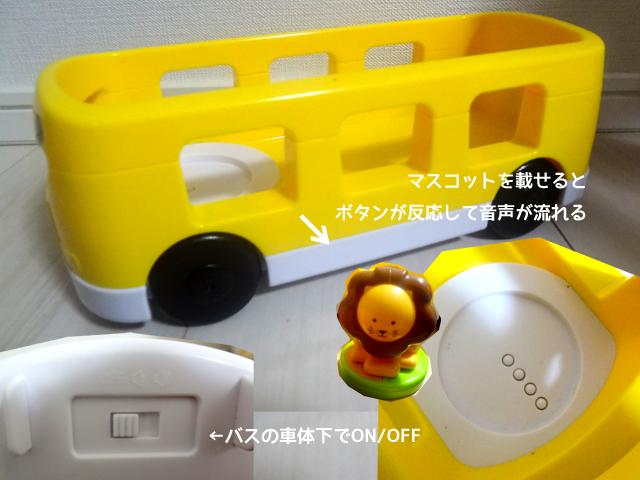 『こどもちゃれんじ・ぷち』バスのプップー