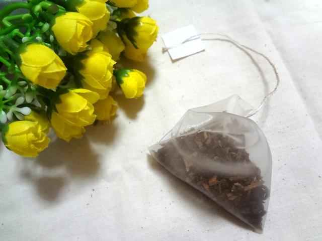 あじかんの「焙煎ごぼう茶」のティーバック