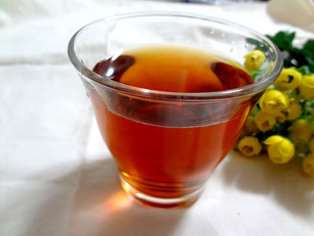 あじかんの「焙煎ごぼう茶」カップで入れた場合