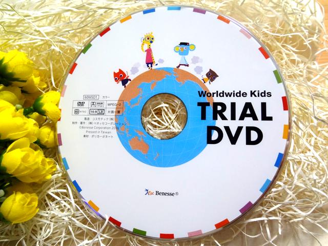 ワールドワイドキッズのTRAIAL DVD