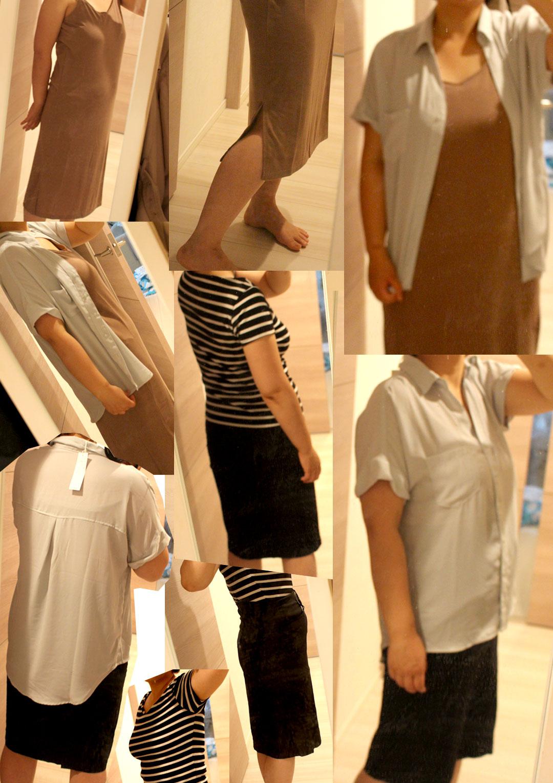 夢展望で購入した6000円分4着の夏服を試着しました。